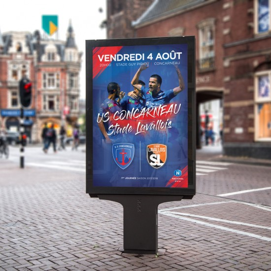 Affiche de match